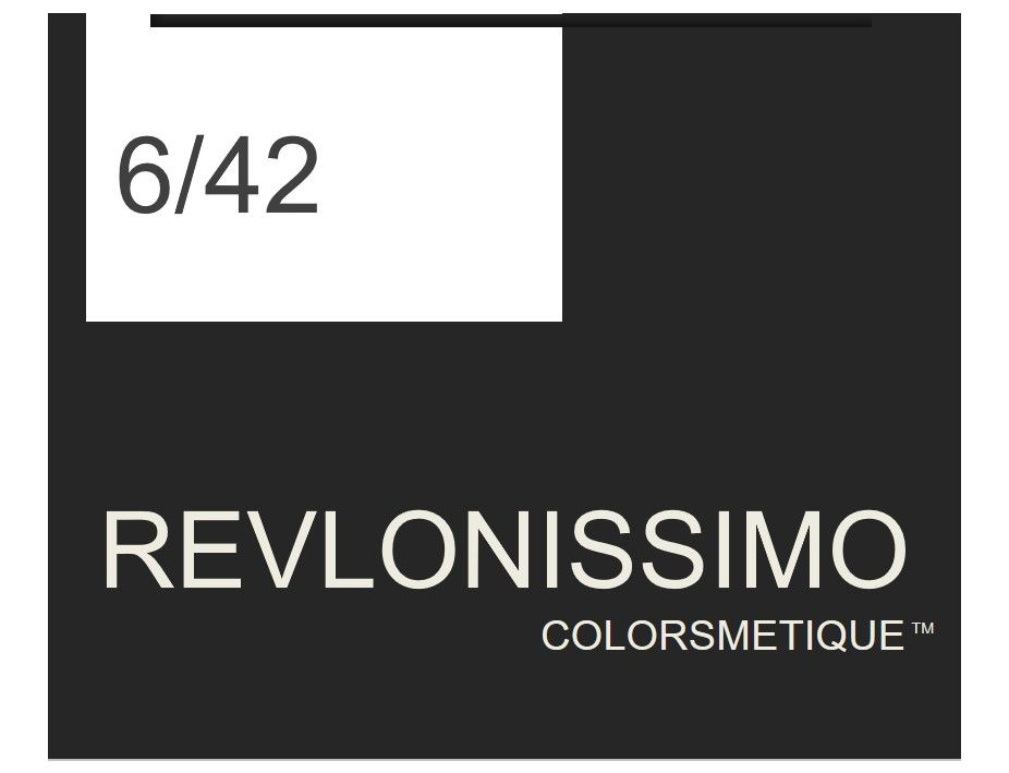 Revlonissimo  High Coverage 60ml 6/42