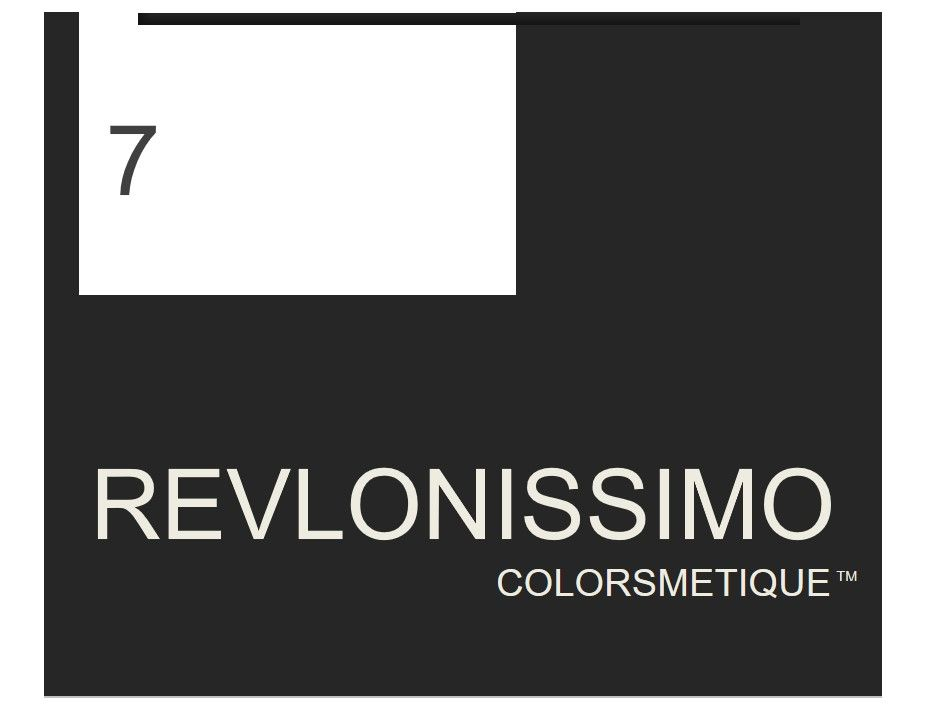 Revlonissimo  High Coverage 60ml 7