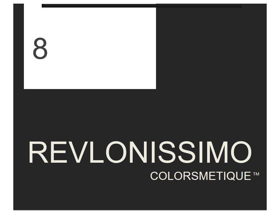 Revlonissimo  High Coverage 60ml 8