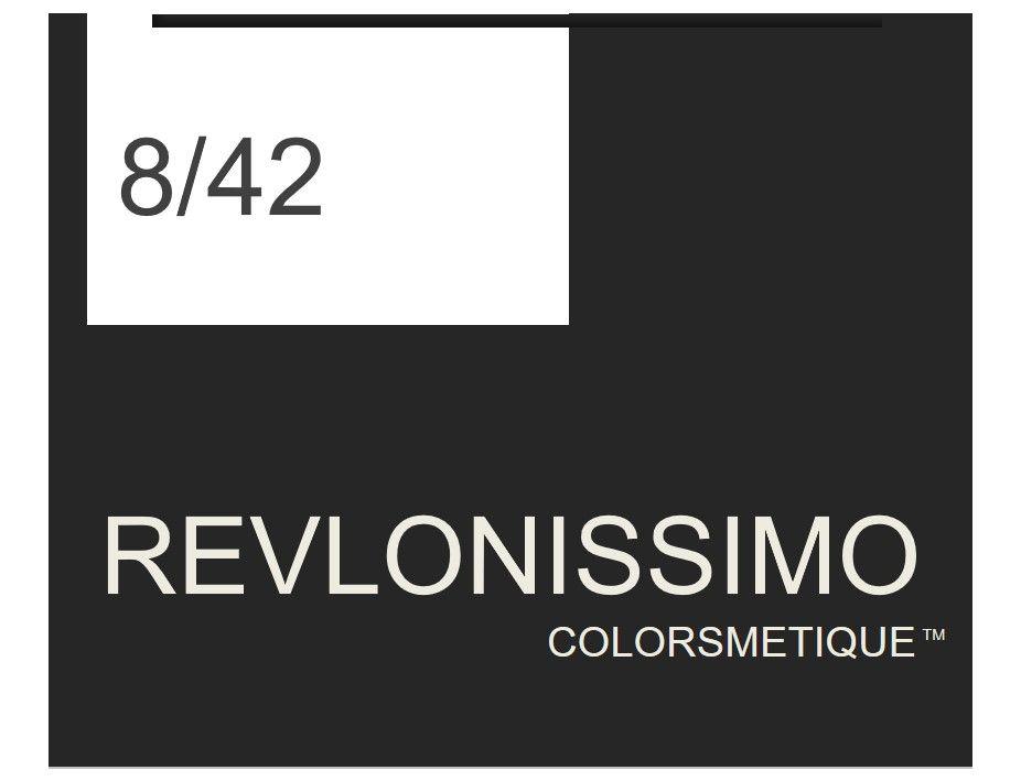 Revlonissimo  High Coverage 60ml 8/42