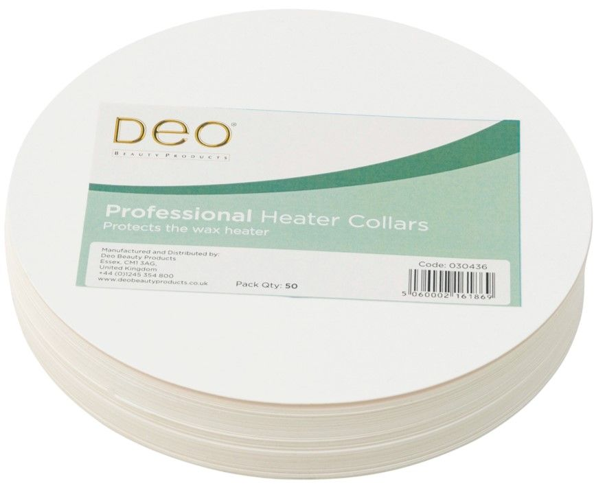 DEO Disposable Wax Heater Collars 50 Pack