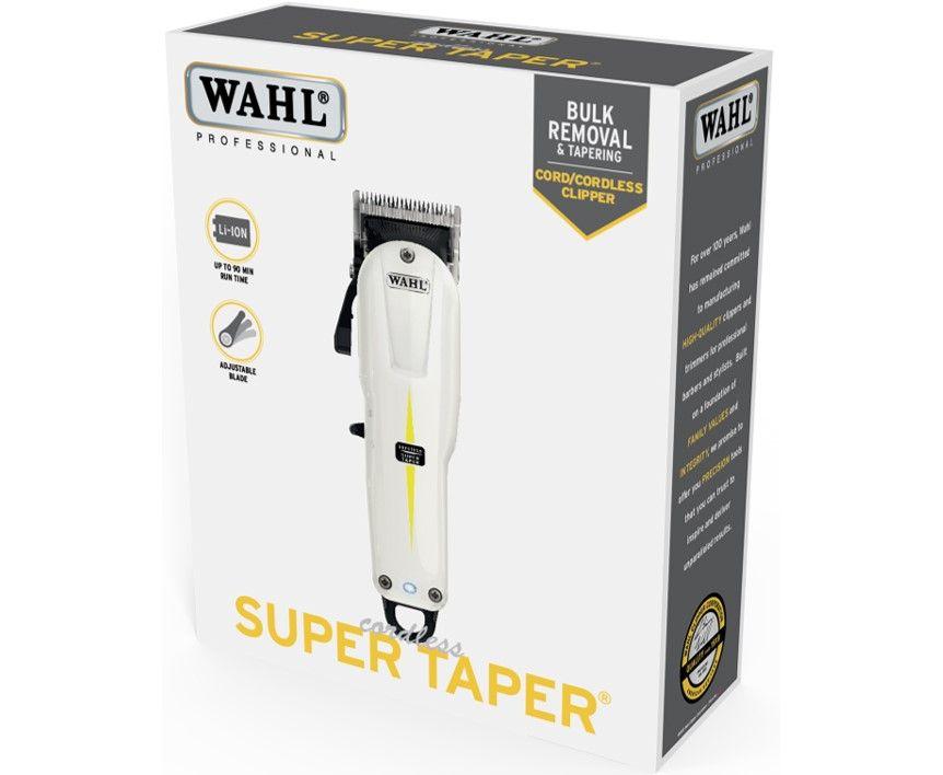 Wahl Super Taper Cord/Cordless Clipper