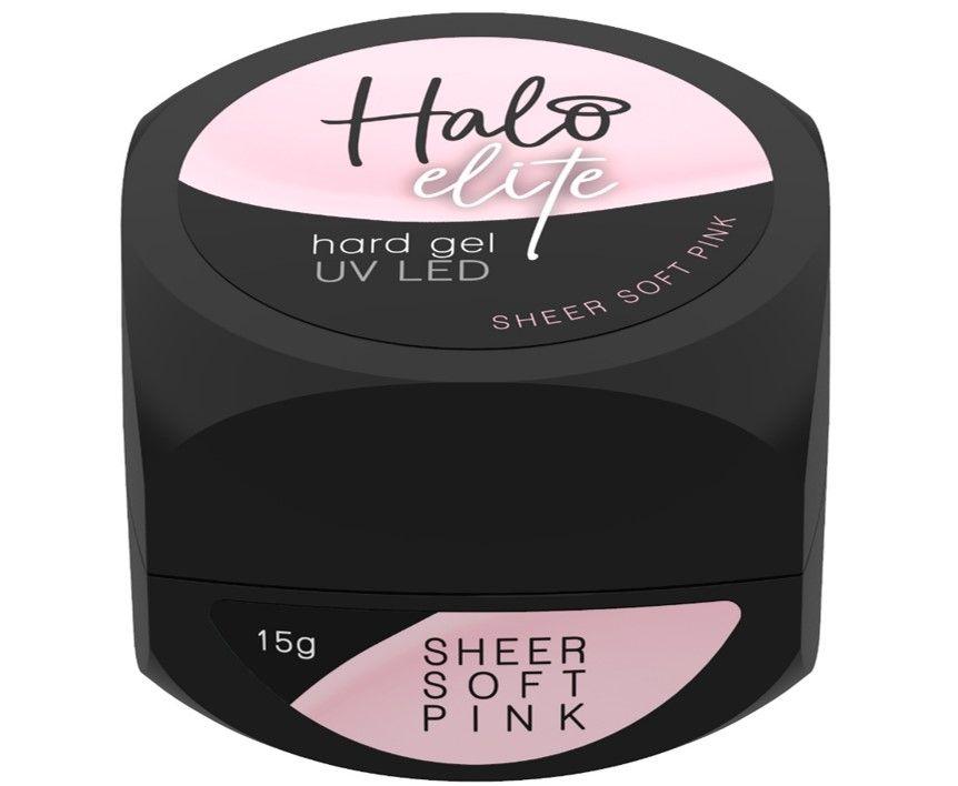 Halo Elite Hard Gel Sheer Soft Pink 15g