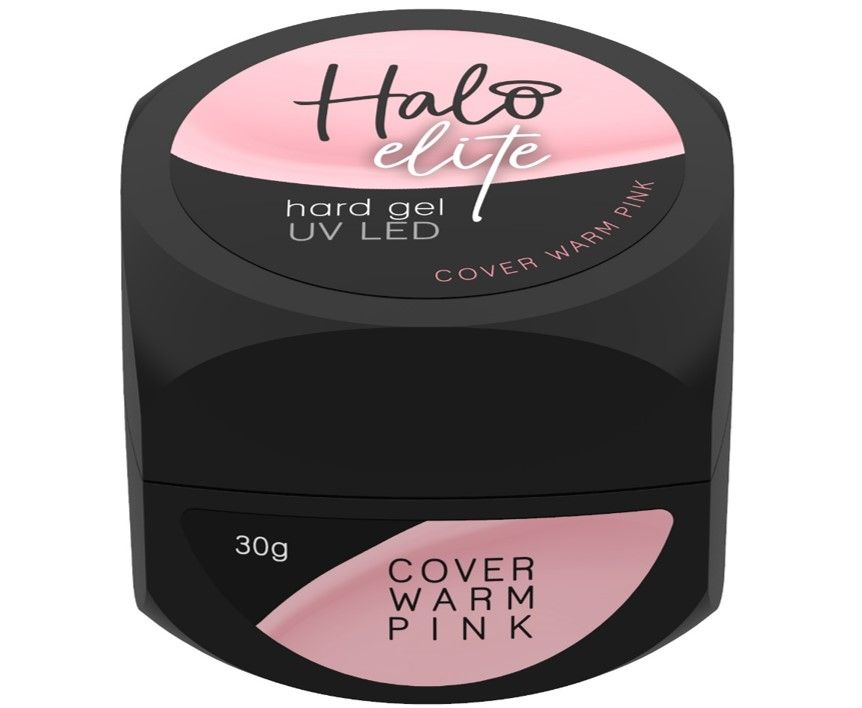 Halo Elite Hard Gel Cover Warm Pink 30g