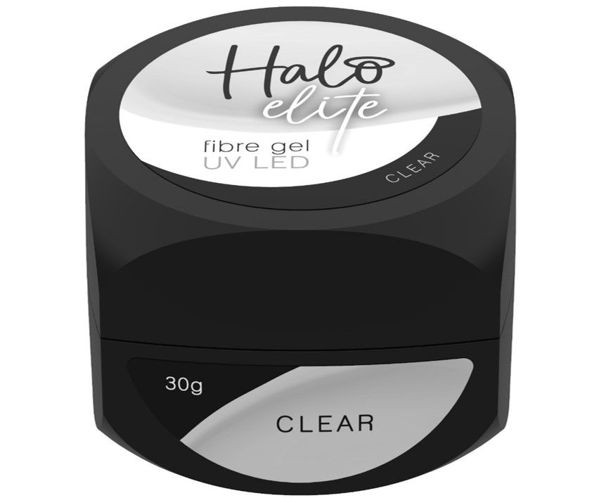Halo Elite Fibre Gel Clear 30g