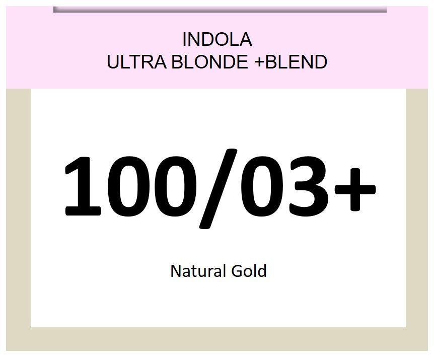 Blonde Expert Ultra Blonde + Blend 60ml 100/03+