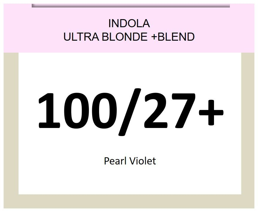 Blonde Expert Ultra Blonde + Blend 60ml 100/27+