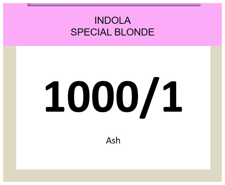 Blonde Expert Special Blonde 60ml 1000/1