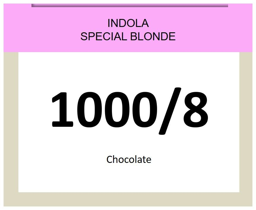 Blonde Expert Special Blonde 60ml 1000/8