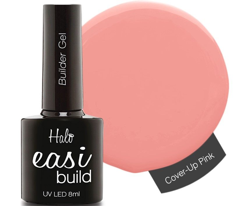 Halo Easibuild Cover Up Pink 8ml