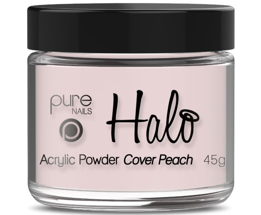 Halo Acrylic Powder Cover Peach 45g
