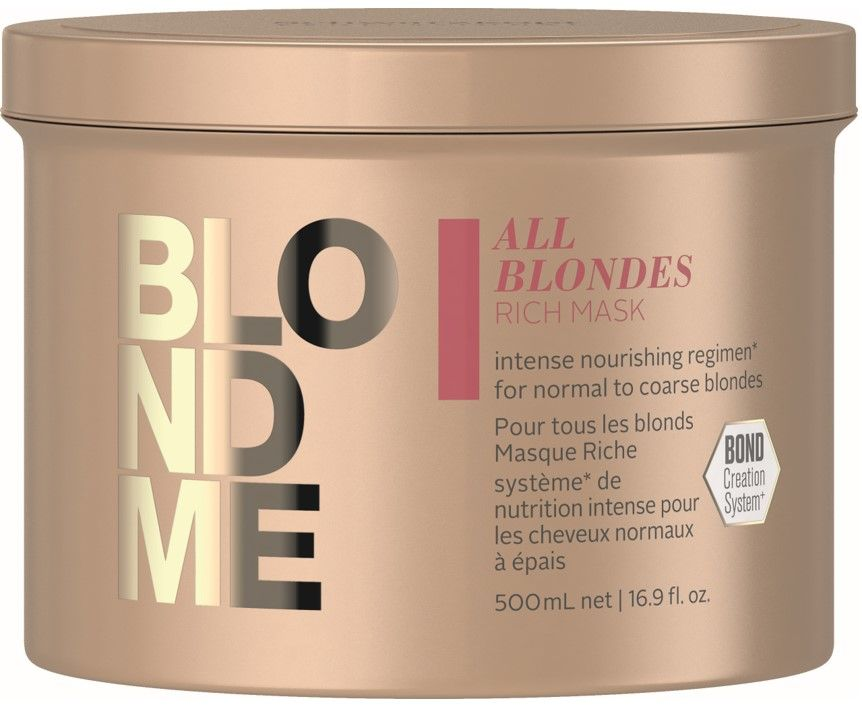 Blond Me All Blondes Rich Mask 500ml