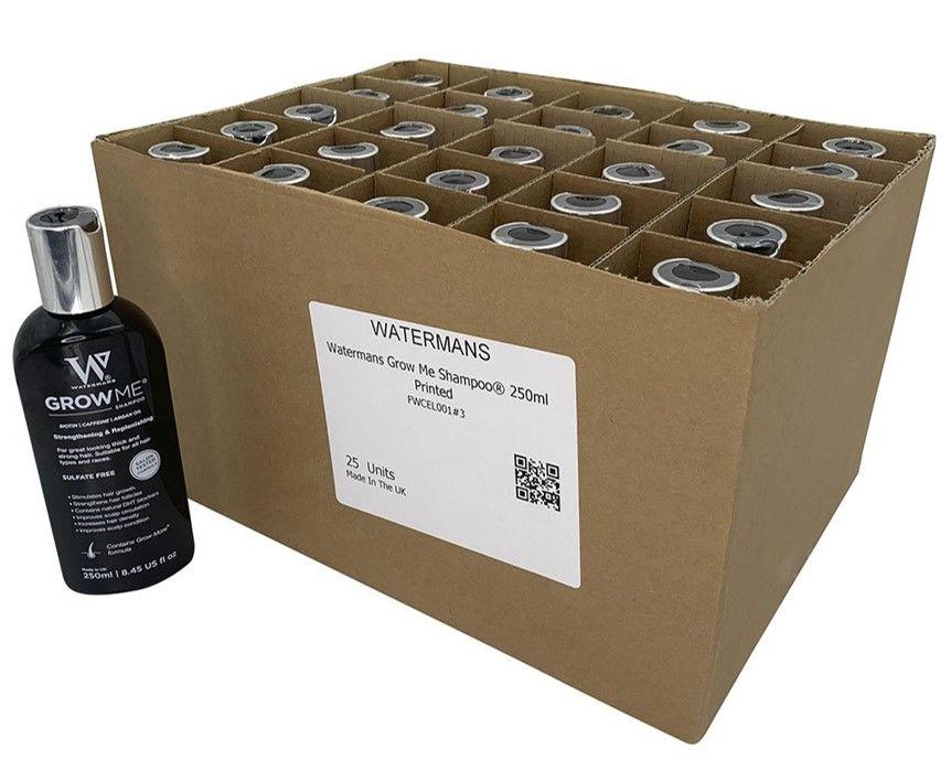 Watermans Grow Me Shampoo 250ml 25 Pack