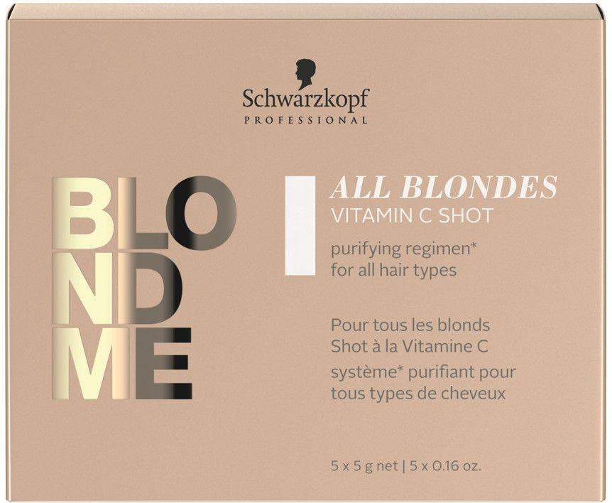 Blond Me All Blondes Detox Vitamin C Shots 5g 5 Pack