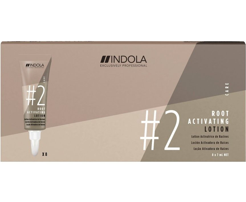 Indola #2 Root Activating Lotion 7ml 8 Pack