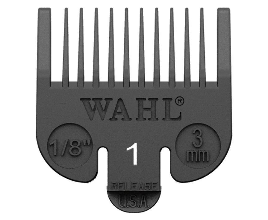 Wahl Clipper Comb Plastic #1 Black