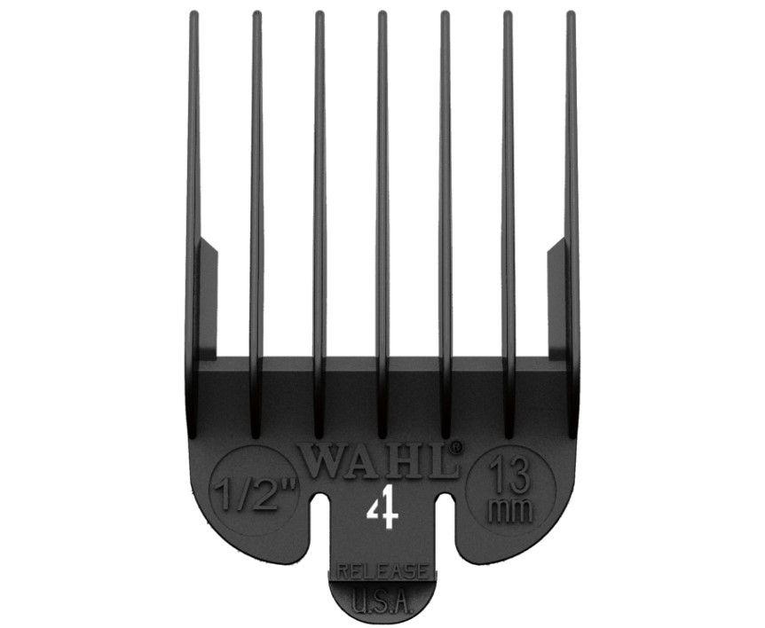 Wahl Clipper Comb Plastic #4 Black