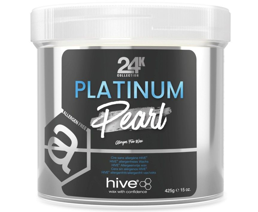 Hive 24K Platinum Pearl Wax 425g