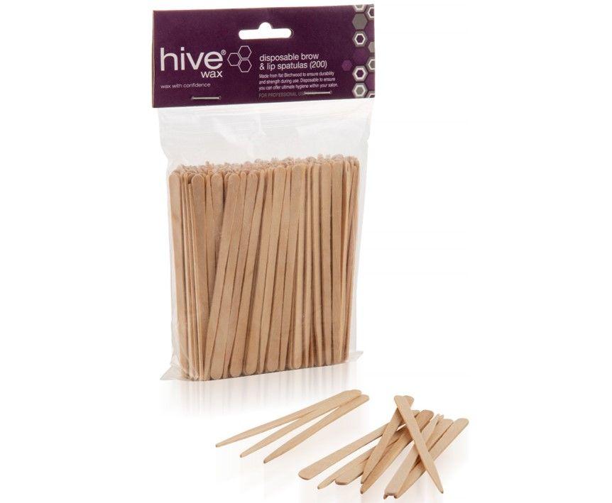Hive Disposable Brow & Lip Spatulas 200 Pack