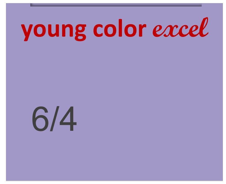 Young Color Excel 70ml 6/4