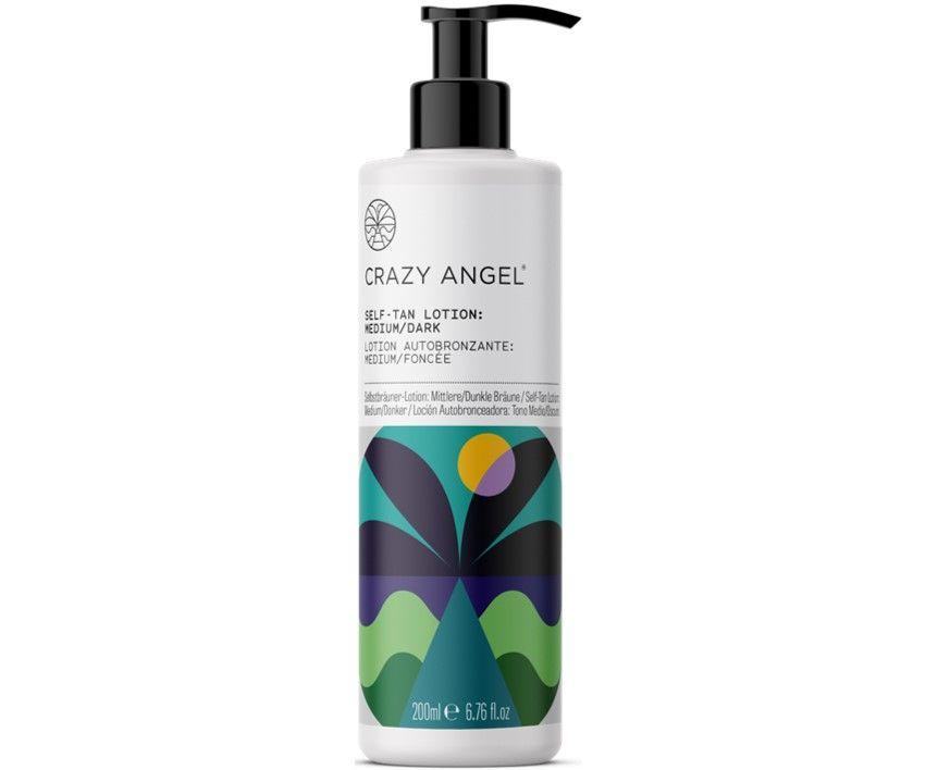 Crazy Angel Self Tan Lotion Medium/Dark 200ml