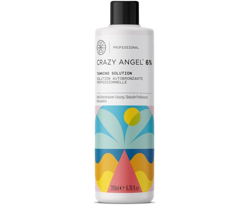 Crazy Angel Tanning Solution 6% 200ml