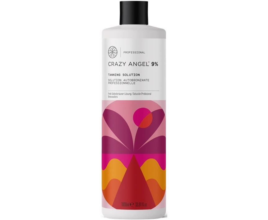 Crazy Angel Tanning Solution 9% 1000ml