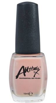 Attitude Nail Polish Peaches & Cream 15ml