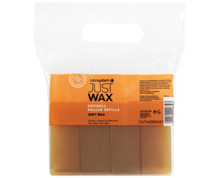 Just Wax DepiRoll Wax Refill 75ml 12 Pack