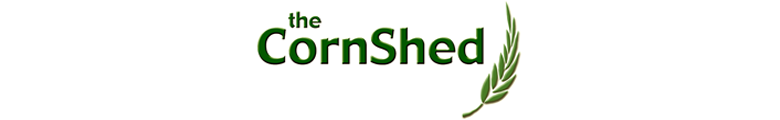 www.thecornshed.co.uk, site logo.