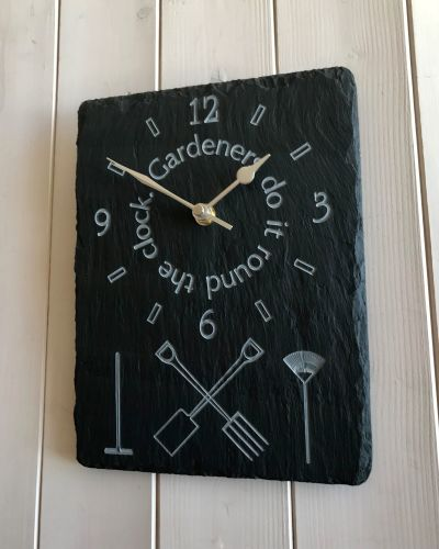 Gardeners Do It Round the Clock
