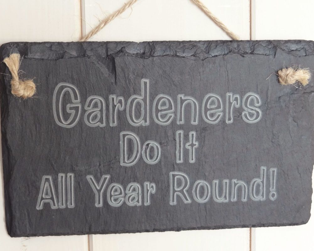 Gardeners Do it All Year Round!