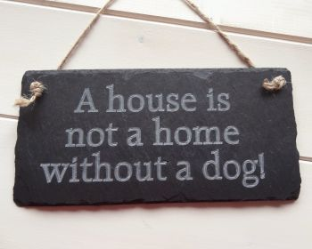 A house is not a home..
