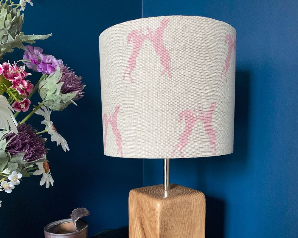 Boxing Hares Lampshade