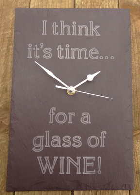 I think it's time for a glass of wine!