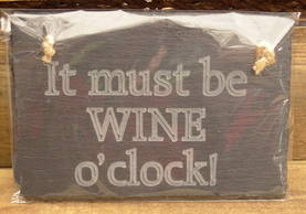 It must be WINE o'clock!