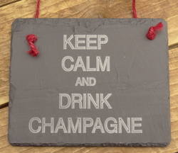 Keep Calm Drink Champagne