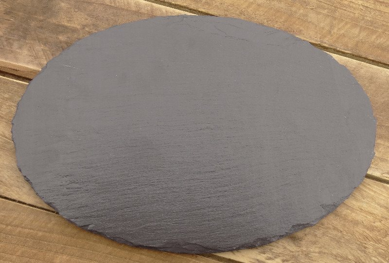 welsh grey oval platter