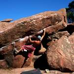 Bouldering in Albarracin - Spain