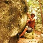 Bouldering in Fontainebleau - France