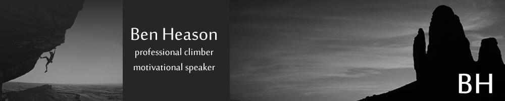 benheason.com, site logo.