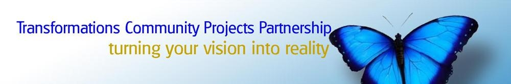 Transformations Community Projects Partnership, site logo.