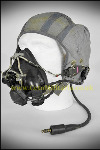 Flying Helmet G Type, Grey c/w P Type Mask/wired.