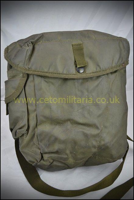 Respirator Haversack / Bag, S6, OG