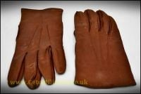 Gloves, Officer's Brown Leather (Various)