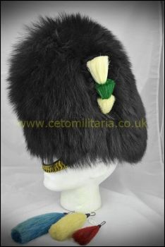 Bearskin - 58/59cm (plumes available)