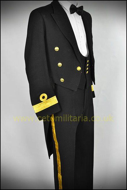 RN No1 Tailcoat, Commodore (39/40