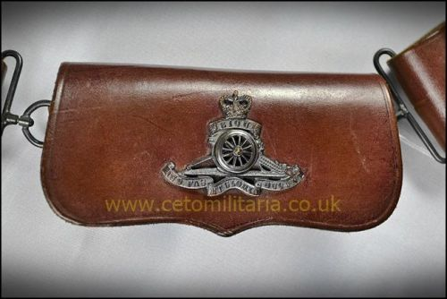 Royal Artillery Cross Belt/Cartouche