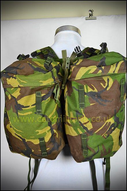 PLCE Daypack DPM (Yoke & Side-Pouches)