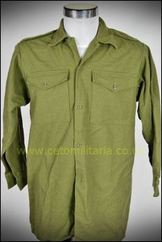 Shirt, Combat, Green KF (Various)